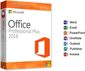 Microsoft Office 2016 Professional Plus - Digital Download - Licence Only