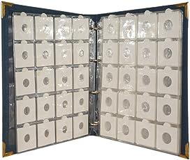 Marudhar Arts World Class Coin Album for Keeping 200 Coins