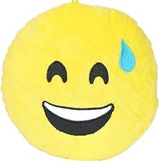 Chords Sweet Smile Emoticon Stickable Plush Soft Toy Cushion 20CM