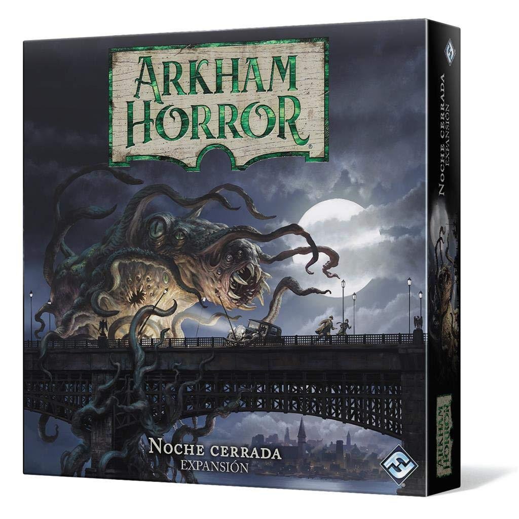 Fantasy Flight Games- Arkham Horror – Noche Cerrada, Color (AHB04ES)