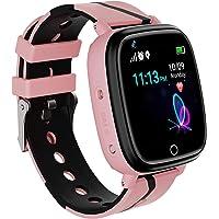 Smartwatch per Bambini - Orologio Intelligente con Tracker GPS/LBS Anti-Lost SOS con Chiamate a Due vie Giochi di…