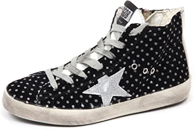 Golden Goose E8340 Sneaker Bimba Girl Velvet Francy Scarpe Vintage Shoe