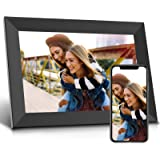 Jeemak WiFi Digital Photo Frame 10.1 inch Picture Frame with IPS Touch Screen Portrait or Landscape Auto-Rotate Share…