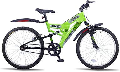 Hero Disney 24T Hulk Single Speed Junior Cycle  16-inches (Green)