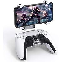 Auarte Supporto per Telefono per Controller PS5 - Morsetto per Supporto per Clip per Telefono con Controller Wireless…