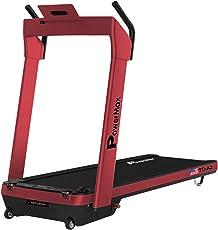 Powermax Fitness - UrbanTrek TD-A3 Premium Model (2.5HP), Plug & Run Motorized Modern Treadmill with Android & iOS App
