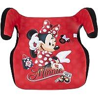 Disney Minnie Alzabimbo Minnie Gruppo 3 (da 22 a 36 kg) seggiolino Bambini Auto Booster, Rosso