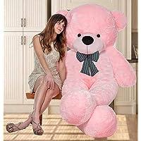 AVS Hugable Spongy Cute Soft Teddy Bear | Pink | 7 Feet | Gift for Girls and Kids