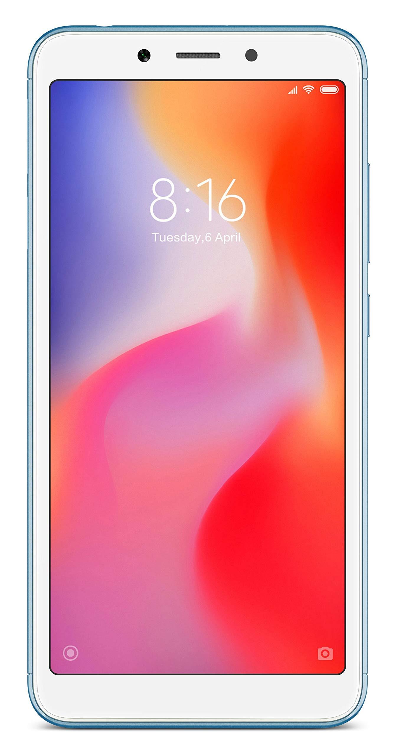xiaomi redmi 6a (blue, 16gb) - 71C8UT8KMSL - Xiaomi Redmi 6A (Blue, 16GB)