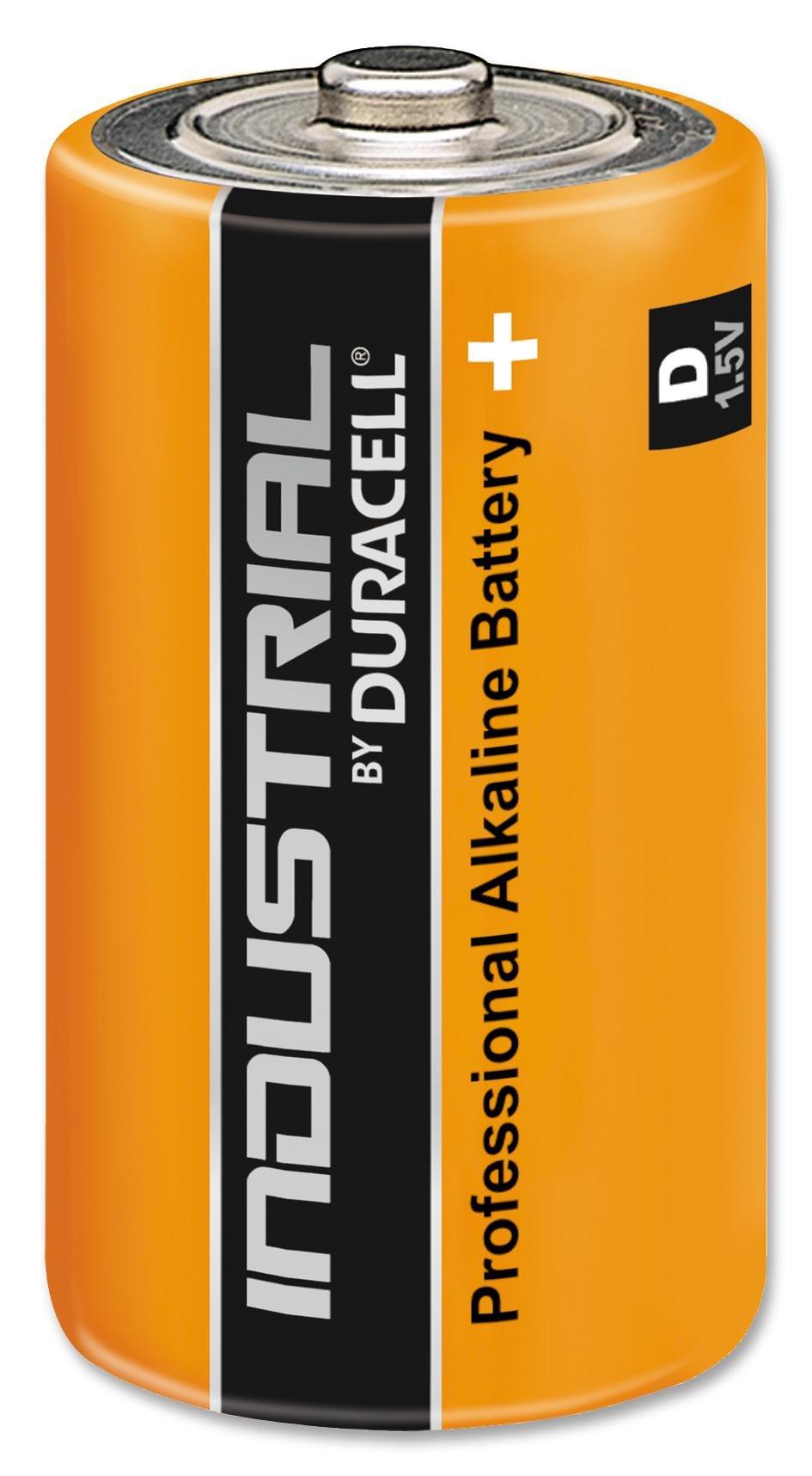 Duracell 5000390000000batteria alcalina industriale D [confezione da 10] (Epitome verificato pro-se