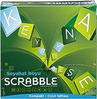 Scrabble -  Mattel Cjt14 Travel Kelime Oyunu ,Türkçe