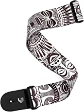 Planet Waves P20W1508 Polyester Guitar Strap (African Masks)