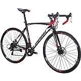 Eurobike Road Bike XC550 21 Speed 700C Wheels Road Bicycle Dual Disc Brake Bicycle