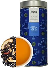 TGL Co. Luxury Teas Spa Delight Black Leaf Tea, (50 gms | Makes 25 Cups) Country of Origin Sri Lanka