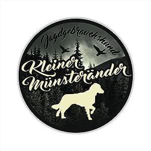Auto Aufkleber Jagdhund Digi Kleiner MÜnsterlÄnder Hundeaufkleber Siviwonder Jagd Auto