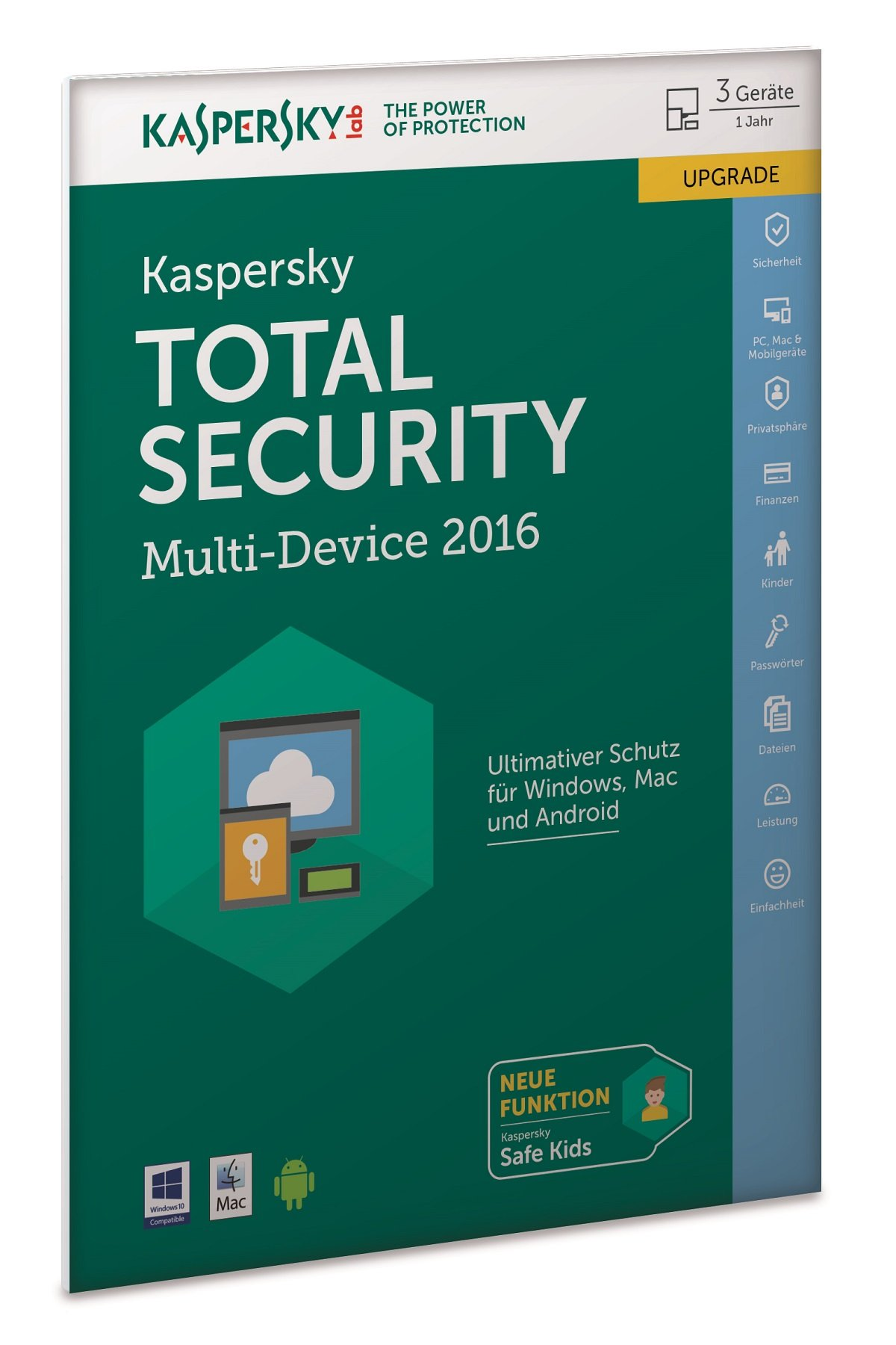 Kasp Total-Security 2016 MD UPG 3U Frust | 3User Multi-Device