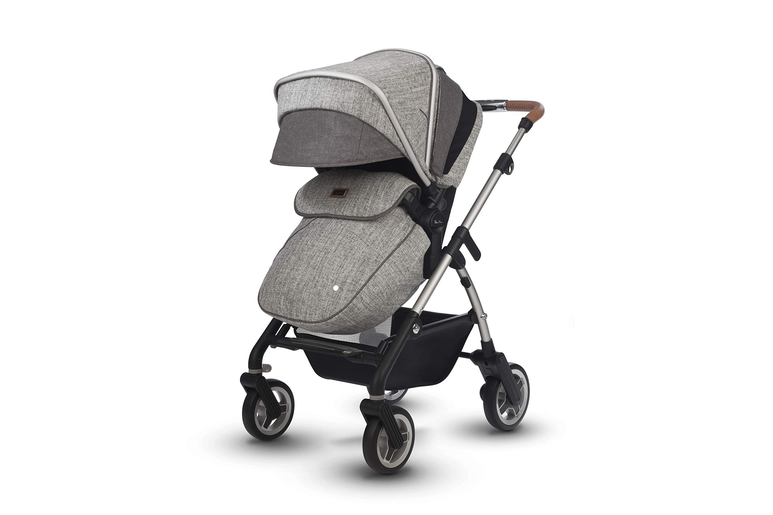 Silver Cross Wayfarer Camden Silver Cross Complete pram system that includes everything you need from birth to toddler Includes a lie-flat carrycot for your new born that is suitable for overnight sleeping Compact, lightweight and convenient, hardwearing and durable 6
