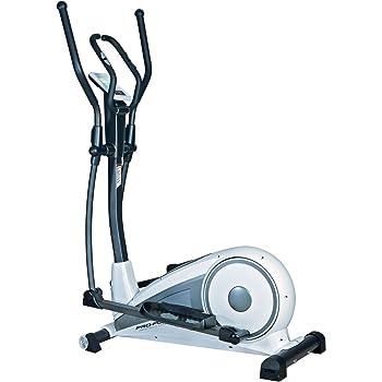 ProForm ELIPSE Touch 5.0 - Elíptica de Fitness (Pantalla táctil, programable, Manual, magnético, Ritmo cardiaco), Color Blanco Roto, Talla UK: 44 Kg