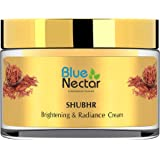 Blue Nectar Ayurvedic Sandalwood Face Cream for Skin Brightening & Glowing Skin | Day & Night Face Moisturizer for Daily Use(