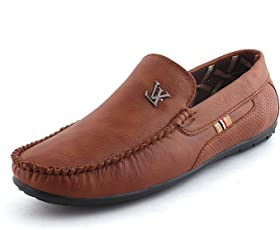 Brandlance Men's Casual Loafer- Brown