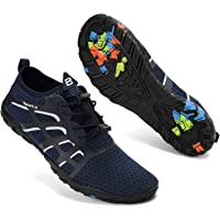 Water Shoes Mens Womens Quick Dry Swimming Pool Barefoot Aqua Water Sports Surf Beach Boating Snorkeling Diving Lake…