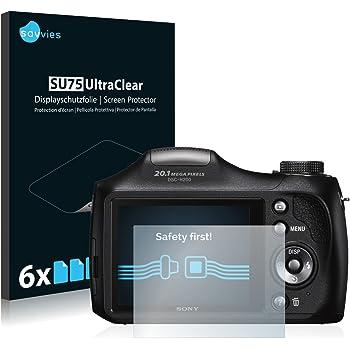 Savvies Pellicola Protettiva Sony Cyber-Shot DSC-H300 [6 Pack] Protezione per Schermo