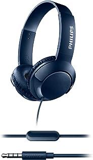 Philips Shl3075BL/00 Mikrofonlu Kafa Bantlı Kulaklık, Mavi