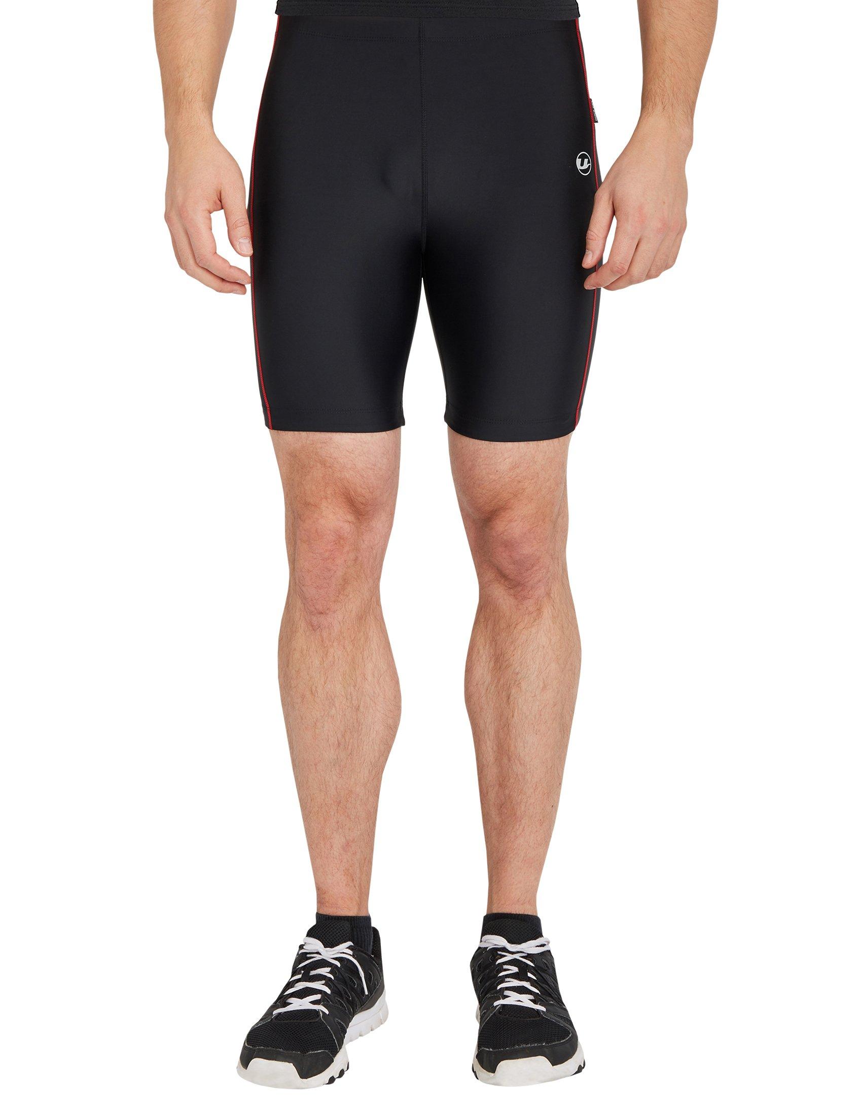 Hombre Función Rápido Fitness Cortos Pantalones Con De Para Ultrasport Hombre; Deporte Secado RjL354Acq