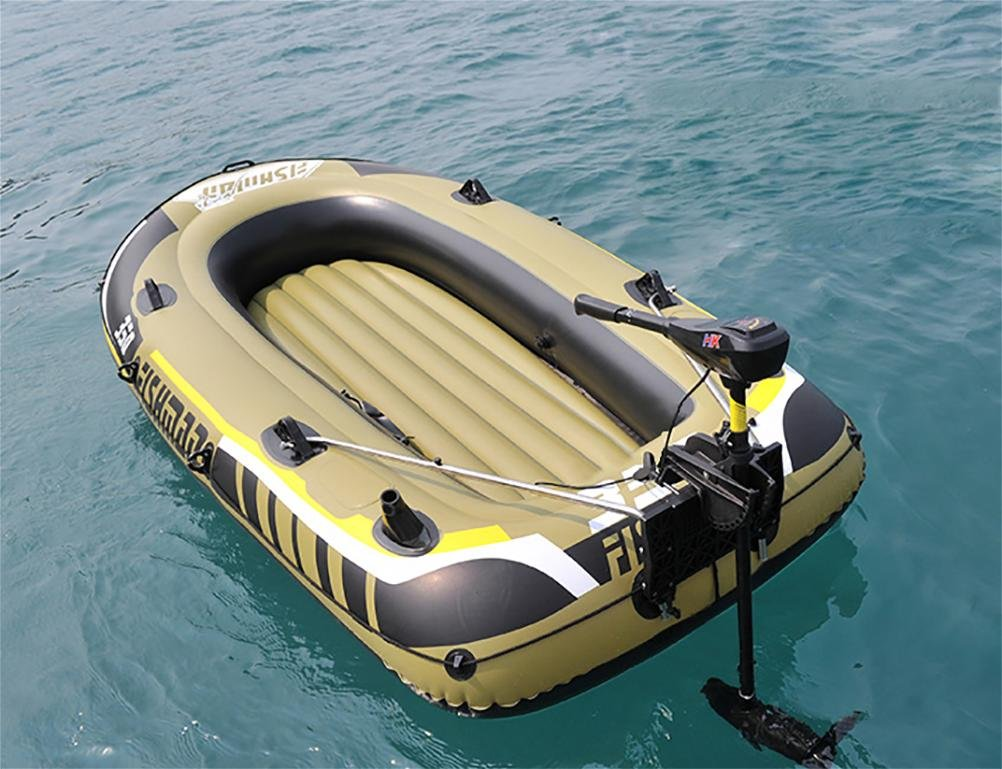 POTA 2/3/4 Person Inflatable Raft Boat Set Kayak Fishing Boat With Pump And Oars