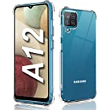 For Samsung A12 Clear Case,Galaxy A12 Phone Case/Cover Shockproof,Soft TPU Protective,Ultra [Thin Slim Fit],Crystal Clear [An