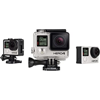 GoPro HERO4 Black Edition Adventure Videocamera 12 MP, 4K/30 fps, 1080p/120 fps [Italia]