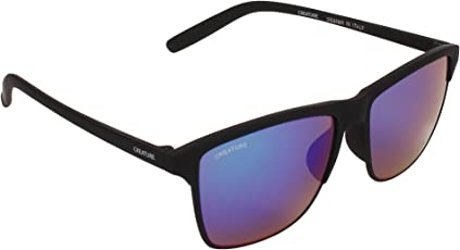 Creature Uv Protected Wayfarer Unisex Sunglasses (Doit-003|Purple|53)