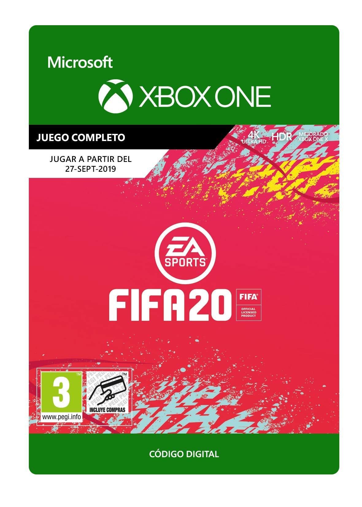 FIFA 20 – Xbox One – Código de descarga