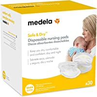 Medela Breast Pads, Disposable Nursing Pads for Breastfeeding & Pumping, Pack of 30
