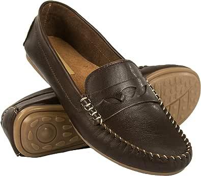 Zerimar Mokassins Damen | Mokassins Damen Leder | Mokassins für Damen | Schuhe Mokassin Damen | Damen Klasische Mokassins | Loafers Mokassins |