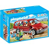 Playmobil- Family Fun-Coche Familiar Conjunto de Figuras, Multicolor (9421)