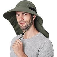Wmcaps Cappellino da Sole Uomo, Safari Boonie Hat con Protezione UV, Cappello da Pescatore a Tesa Larga,Cappelli Estivo…