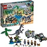 LEGO75935JurassicWorldConfrontatiemetBaryonyx:DeSchattenjachtDinosaurusSpeelset&OffroadBuggySpeelgoed
