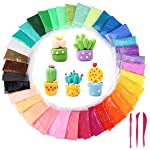 Magicwand® Pack of 12 DIY Ultra Light Modelling Bouncing Clay with Tools for Kids (Pack of 12)