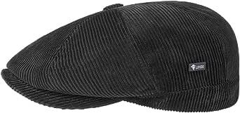 Lipodo 8 Panel Cord Coppola da Uomo - in Cotone - Made in Italy - con Visiera Monocromatico - Berretto Invernale Imbottito Autunno/Inverno - Stile Regular Fit -