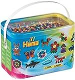 Hama Spiel- und Bügelperlen, 10.000Stück in Einem Eimer