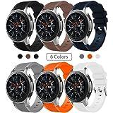 sundaree Compatible Galaxy Watch 46MM Bracelet,22MM Bracelet de Montre Remplacement Bande de Poignet Silicone Bracelet pour Samsung Galaxy Watch 46MM SM-R800/Gear S3 Frontier/Classic(46 Silicone)