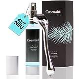 Cosmaidi Dermatologisch getestetes 2in1 Hyaluron-Serum inkl. Premium Dermaroller 0,5mm echten Nadeln, für die noch bessere An