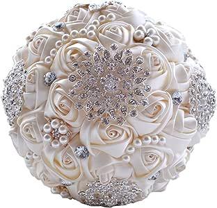 Bouquet Sposa Elegantissimo.Wedding Flowers Bouquet Sposa Elegante Perla Sposa Bouquet Per