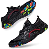 Ritiriko Water Shoes Unisex Aqua Shoes - Quick Drying Barefoot Shoes Trail Running Trainers for Beach Yoga Swim Surfing Divin