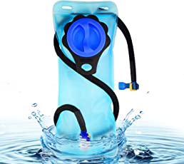 2 Liter Trinkblase,Wasserblase, Genehmigt von FDA, BPA-FREE, Easy Clean, ideal für Outdoor-Radfahren, Wandern, Laufen, Camping, Walking