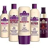 Aussie Cheveux restauration avec ensemble de shampoing, Après-shampoing et traitement profond