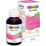 PEDIAKID - Complément Alimentaire Naturel Pediakid Nez-Gorge - Formule Exclusive au Sirop d'Agave - Aide à Apaiser et Dégager