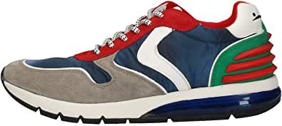 VOILE BLANCHE Sneakers in camoscio con Air