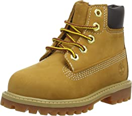 Timberland Unisex-Kinder 6 in Premium Wp Boot Jr 12909 Stiefel,